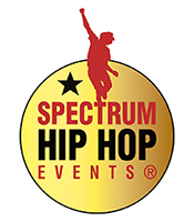 spectrum dance events hip hop logo