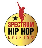 spectrum dance events hip hop logo